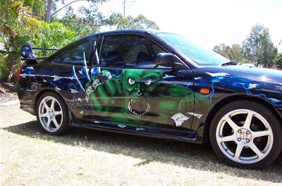 Custom Car Painting Brisbane